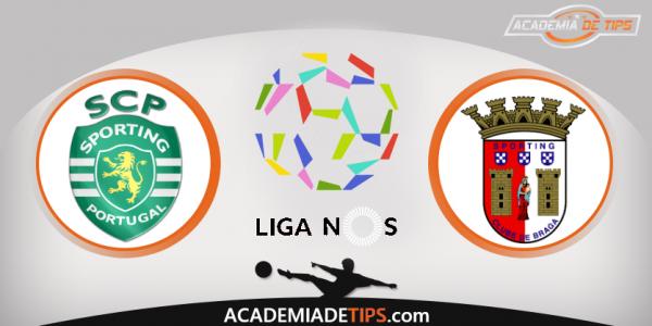 Sporting vs Sporting de Braga, Apostas, Prognóstico e Analise da Liga NOS