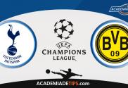 Tottenham vs Dortmund, Apostas, Prognóstico e Analise da UEFA Champions League