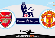 Arsenal vs Manchester United, Prognóstico, Analise e Apostas - Premier League