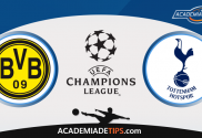 Dortmund vs Tottenham, Prognóstico, Analise e Apostas Liga dos Campeões