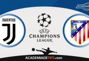Juventus vs Atlético de Madrid, Prognóstico, Analise e Apostas Liga dos Campeões