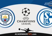Manchester City vs Schalke 04, Prognóstico, Analise e Apostas Liga dos Campeões