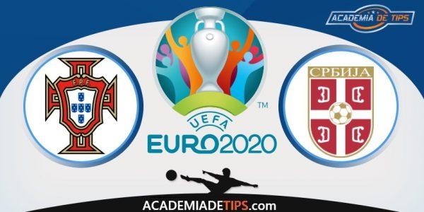 Portugal vs Sérvia, Prognóstico, Apostas e Analise - Euro 2020