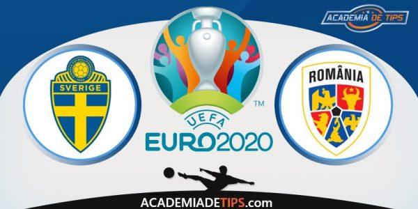 Suécia vs Roménia, Prognóstico, Apostas e Analise - Euro 2020