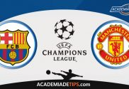 Barcelona vs Manchester United, Prognóstico, Analise e Apostas Liga dos Campeões