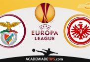 Benfica vs Eintracht Frankfurt, Prognóstico, Analise e Apostas Liga Europa