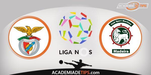 Benfica vs Marítimo,Prognóstico, Analise e Apostas - Liga NOS
