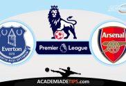 Everton vs Arsenal,Prognóstico, Analise e Apostas - Premier League