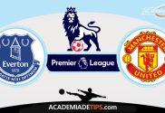 Everton vs Manchester United,Prognóstico, Analise e Apostas - Premier League