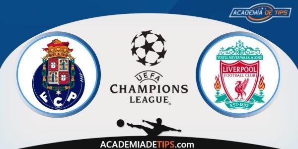 FC Porto vs Liverpool, Prognóstico, Analise e Apostas Liga dos Campeões