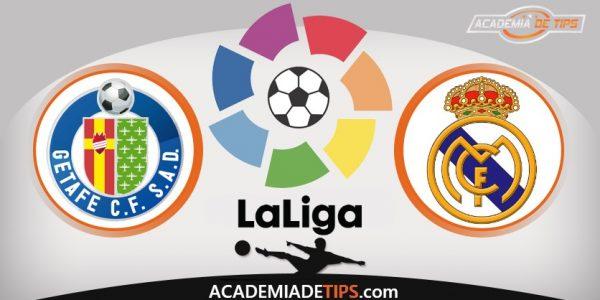 Getafe vs Real Madrid, Prognóstico, Apostas e Analise da La Liga