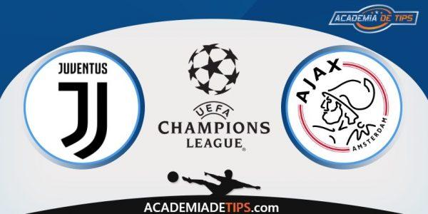 Juventus vs Ajax, Prognóstico, Analise e Apostas Liga dos Campeões