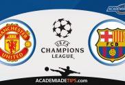 Manchester United vs Barcelona, Prognóstico Liga dos Campeões
