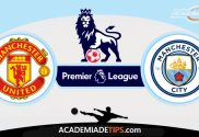 Manchester United vs Manchester City Prognóstico, Analise e Apostas - Premier League