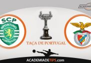Sporting CP vs SL Benfica,Taça de Portugal, Apostas, Prognóstico