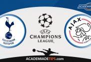 Tottenham vs Ajax, Analise e Apostas - Liga dos Campeões