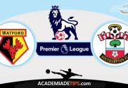 Watford vs Southampton,Prognóstico, Analise e Apostas - Premier League