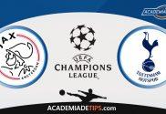 Ajax vs Tottenham, Prognóstico, Analise e Apostas - Liga dos Campeões