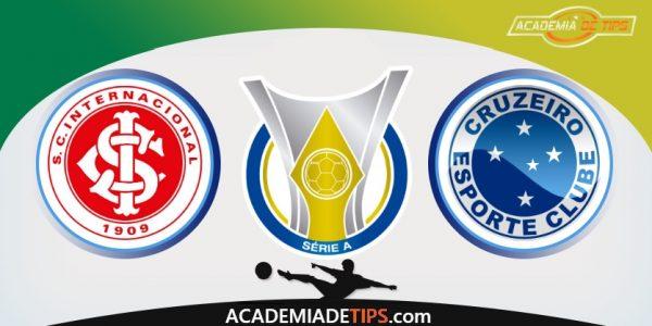 Internacional vs Cruzeiro, Prognóstico e Apostas - Brasileirão Serie A
