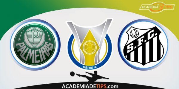 Palmeiras vs Santos, Prognóstico e Apostas - Brasileirão Serie A