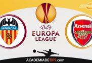 Valencia vs Arsenal, Prognóstico, Analise e Apostas - Liga Europa
