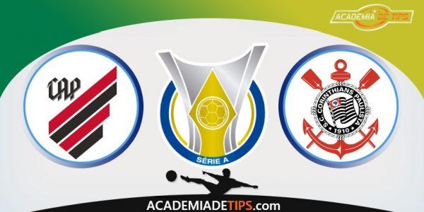 Athletico PR vs Corinthians, Prognóstico e Apostas - Brasileirão Serie A