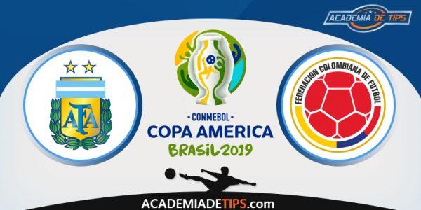 Argentina vs Colômbia, Prognóstico, Analise e Apostas – Copa América 2019