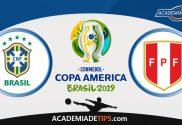 Brasil vs Peru, Prognóstico, Analise e Apostas - Copa América 2019