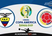Equador vs Chile, Prognóstico, Analise e Apostas – Copa América 2019
