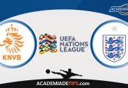 Holanda vs Inglaterra, Prognóstico, Analise e Apostas - Liga das Nações