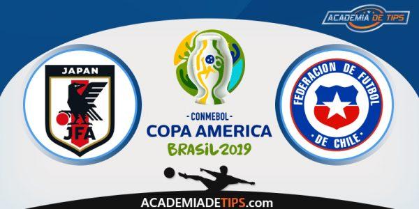 Japão vs Chile, Prognóstico, Analise e Apostas – Copa América 2019