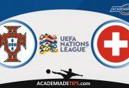 Portugal vs Suíça, Prognóstico, Analise e Apostas - Liga das Nações