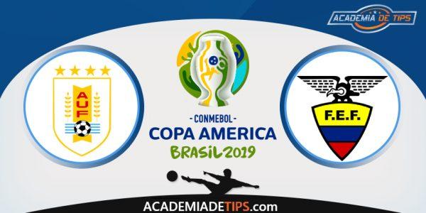 Uruguai vs Equador, Prognóstico, Analise e Apostas – Copa América 2019