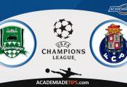Krasnodar vs Porto, Prognóstico e Apostas - UEFA Champions League