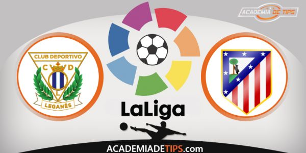 Leganes vs Atlético Madrid, Prognóstico, Analise e Apostas - La Liga