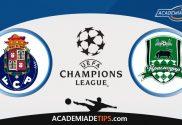 Porto vs Krasnodar, Prognóstico e Apostas - UEFA Champions League