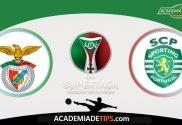 Prognóstico Benfica vs Sporting - Super Taça Cândido de Oliveira 2019