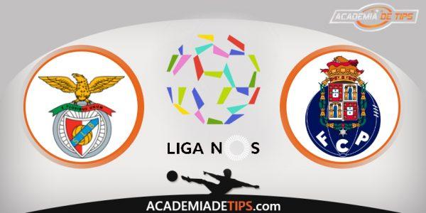 SL Benfica vs FC Porto, Prognóstico, Analise e Apostas - Liga NOS