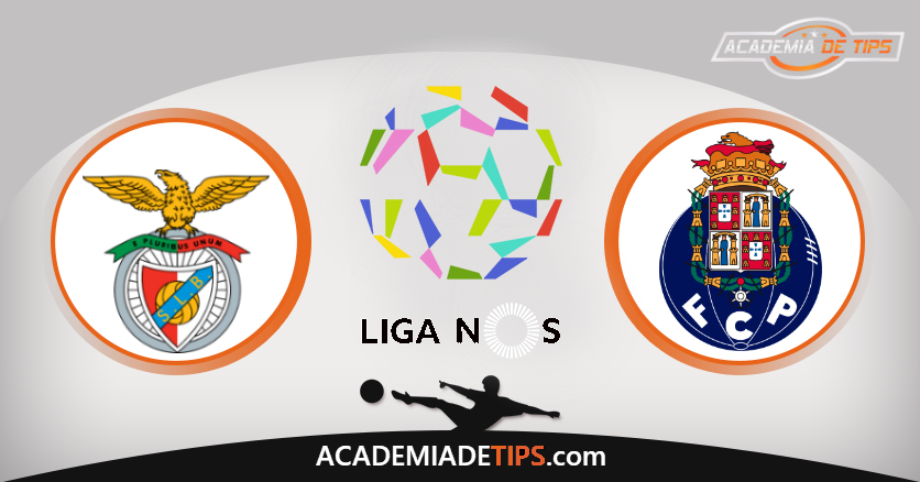 Benfica vs Porto, Prognóstico, Análise e Apostas Liga NOS – 2 Jogos