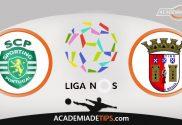 Sporting vs Sp. Braga, Prognóstico, Analise e Apostas - Liga NOS