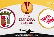 Braga vs Spartak Moscovo, Prognóstico e Apostas - Qualificação Liga Europa