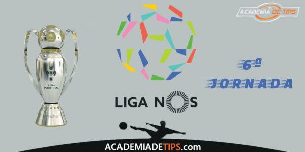 Análise da 6ª Jornada da Liga NOS 201920 - Apostas & Tips