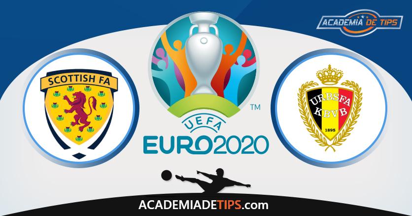 Escócia vs Bélgica, Prognóstico e Apostas - Qualificação Euro 2020