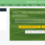 Estratégia Over/Under 1.5 Goals HT para Apostas Desportivas