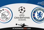 Ajax vs Chelsea, Prognóstico e Apostas - UEFA Champions League