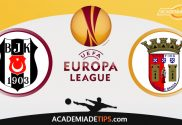 Besiktas vs Braga, Prognóstico, Analise e Apostas da Liga Europa