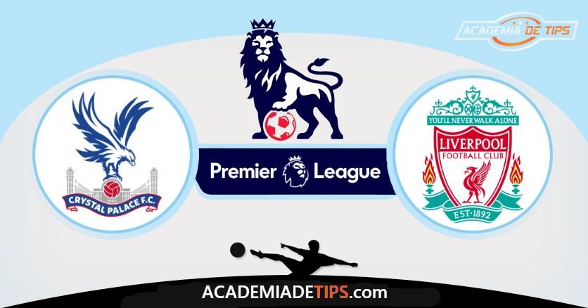 Crystal Palace x Liverpool Prognóstico, Analise e Palpites de Apostas - Premier League