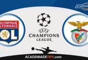 Lyon vs Benfica, Prognóstico, Analise e Apostas - Liga dos Campeões