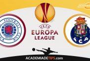 Rangers vs FC Porto, Prognóstico, Analise e Palpites de Apostas - Liga Europa