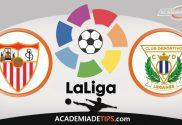 Sevilla vs Leganes, Prognóstico e Palpites de Apostas – La Liga